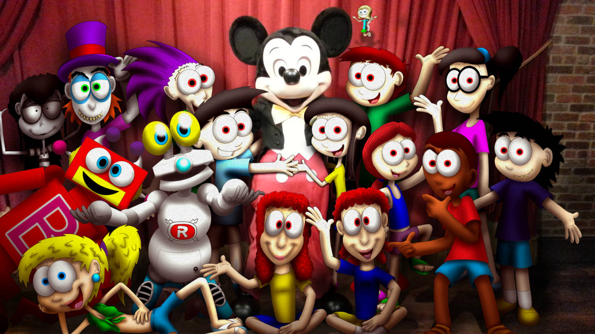 Mickey Mouse and the Jimenitoons
