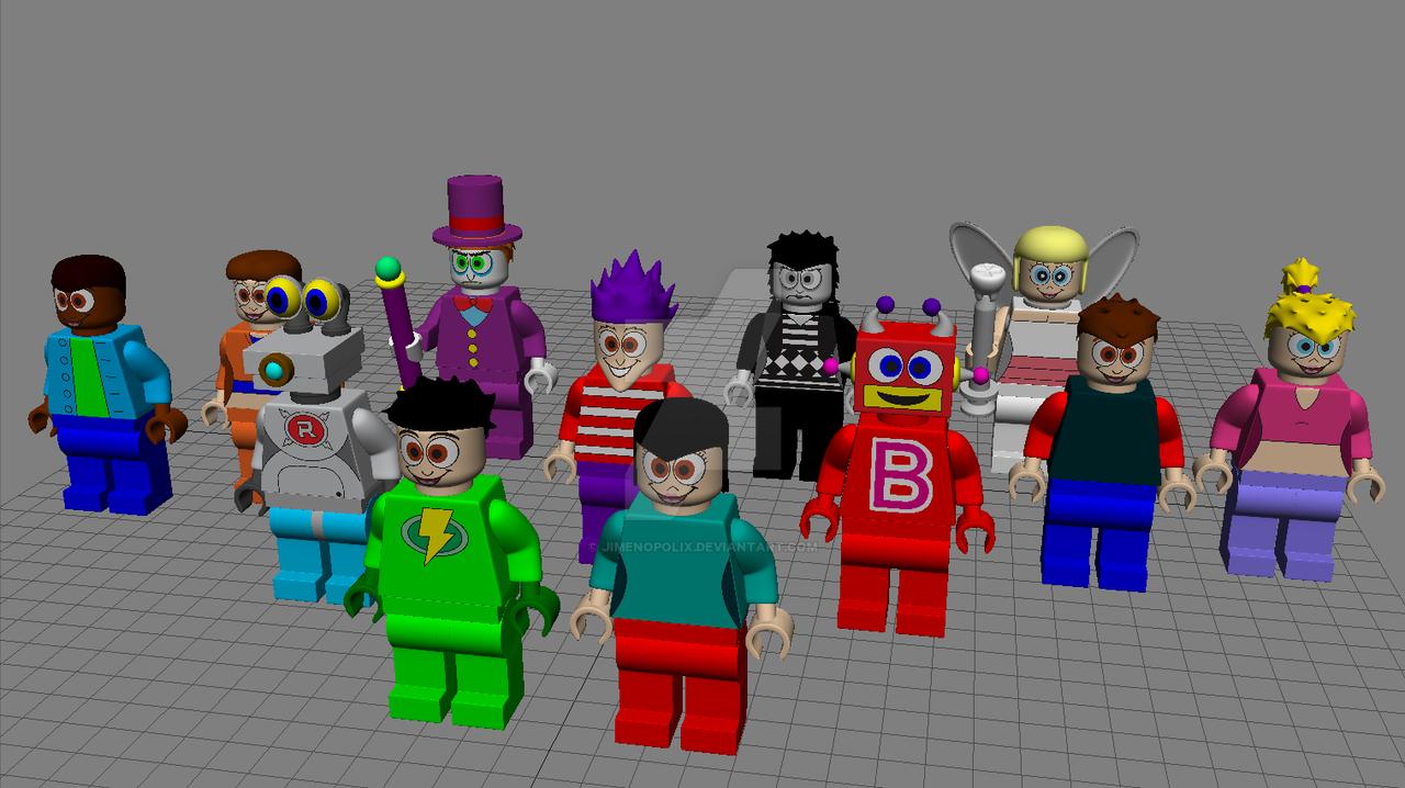 LEGO Jimenitoon Models - FINALIZED!!! by JIMENOPOLIX