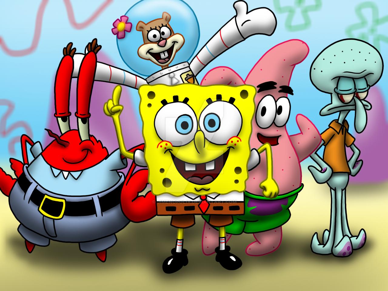 freunde von spongebob