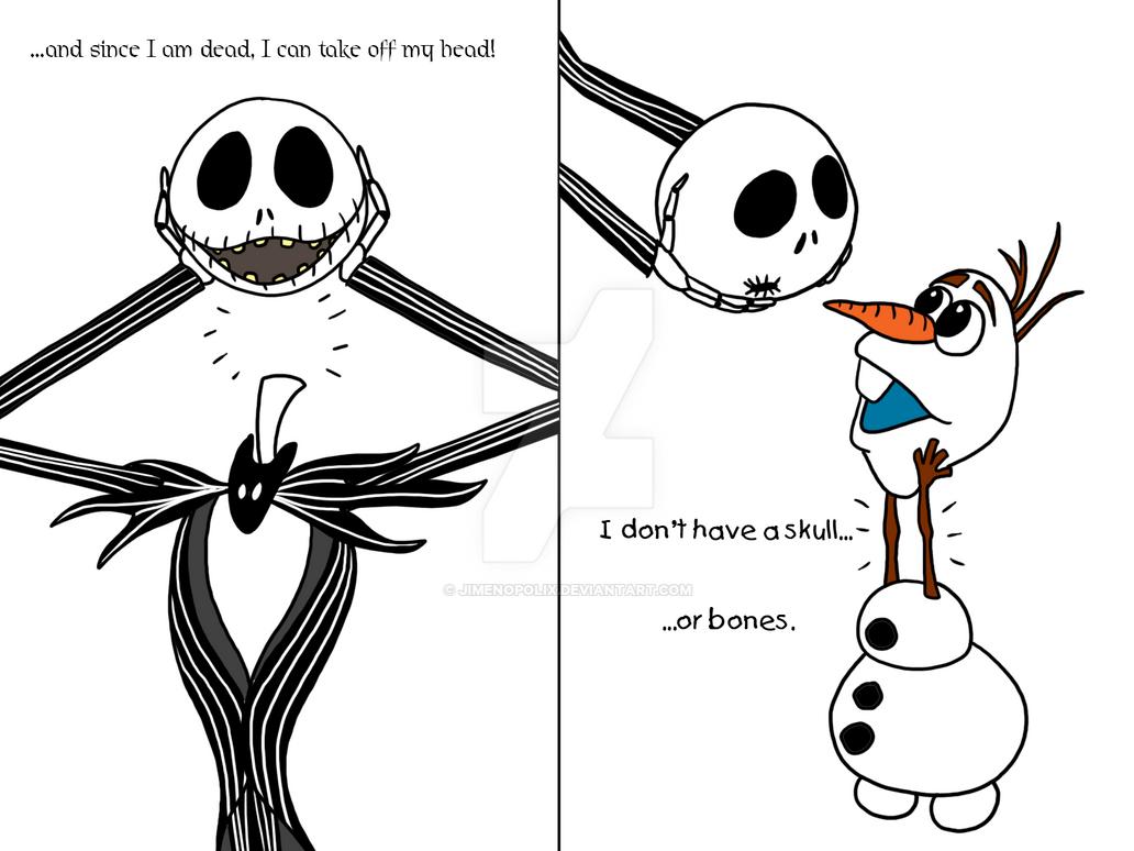 Jack skeleton porn
