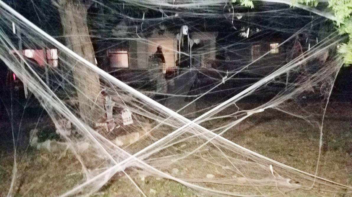 Neighborhood House Halloween Decorations 2017 12 by