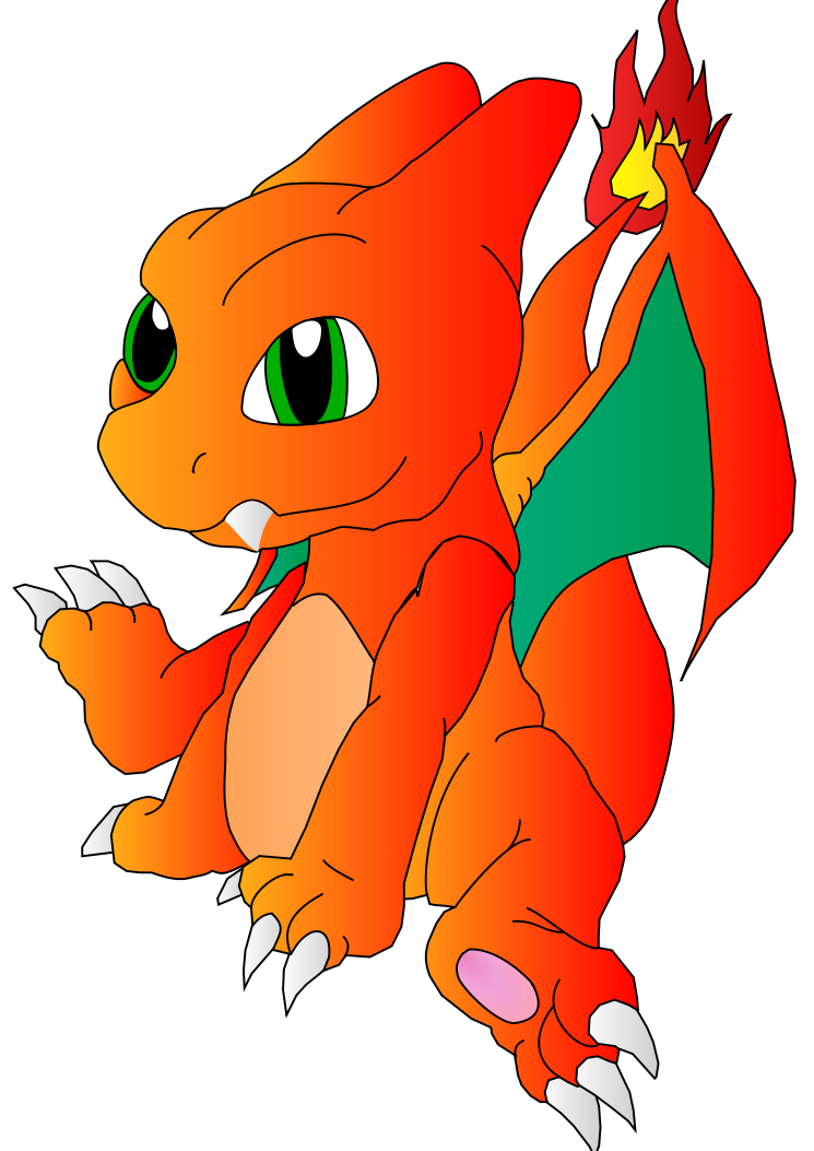 Charizard Chibi Coloreado By Mikimkop On Deviantart