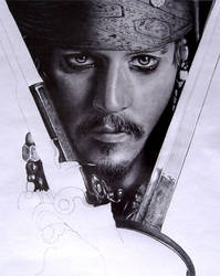Jack Sparrow WIP2 by AndyBuck