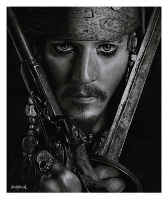 Captain Jack Sparrow by AndyBuck