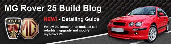 MG Rover 25 Blog Sig Advert