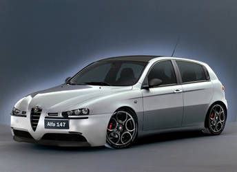 Alfa Romeo 147 Photoshop by AndyBuck