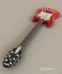 Guitar Red View 1