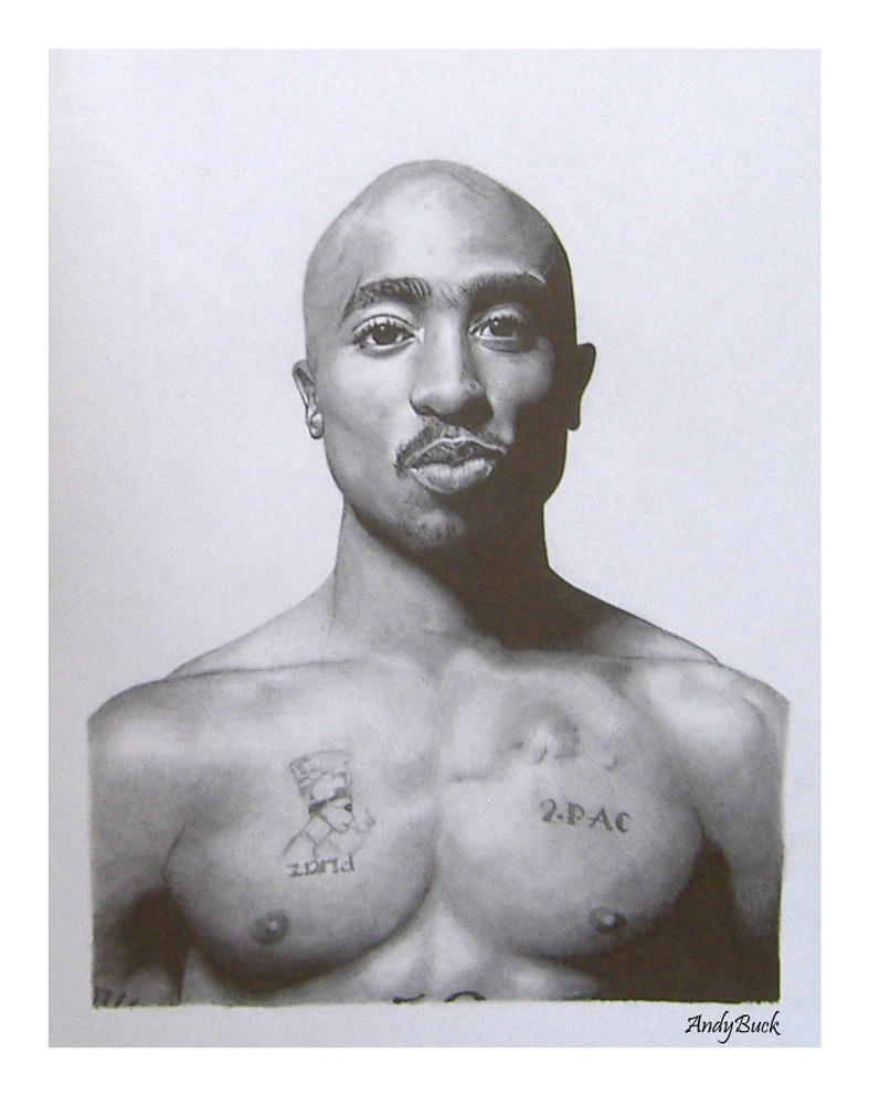 Tupac Shakur by AndyBuck