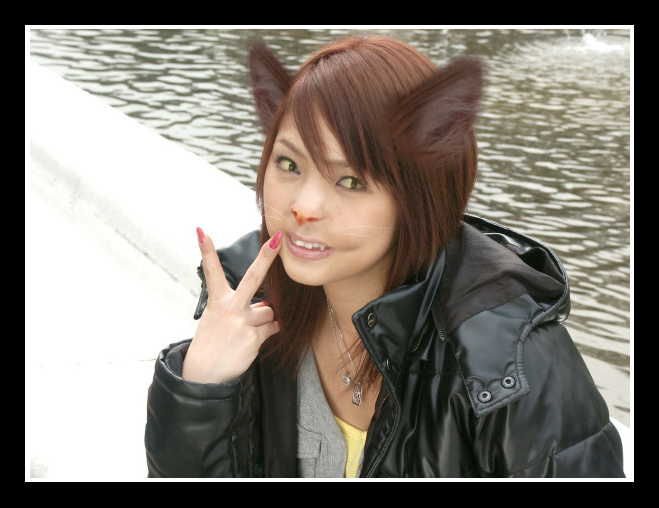 .::Pose for the camera::. by WolfGurll