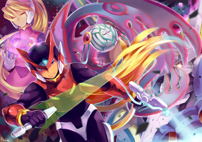 Rockman Zero by Mitsukiven