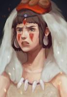 Princess Mononoke - San fan art