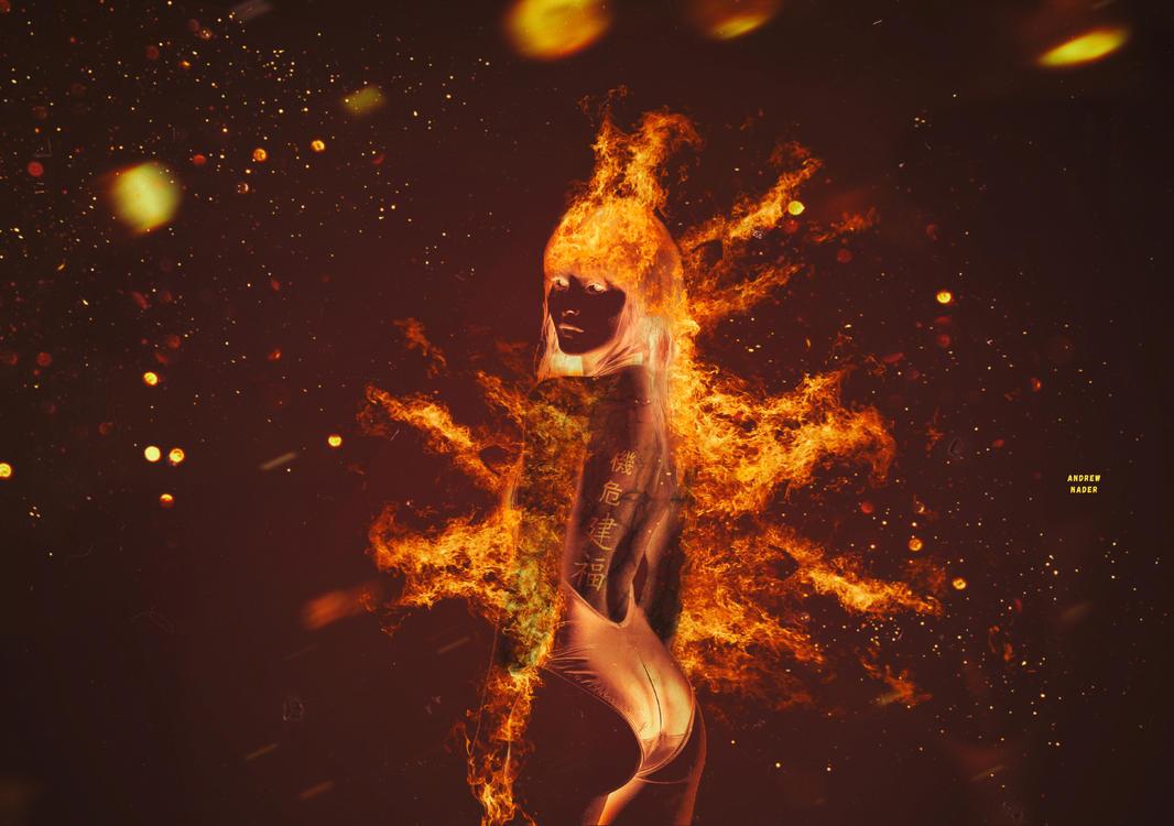 Burning by AndrewNader