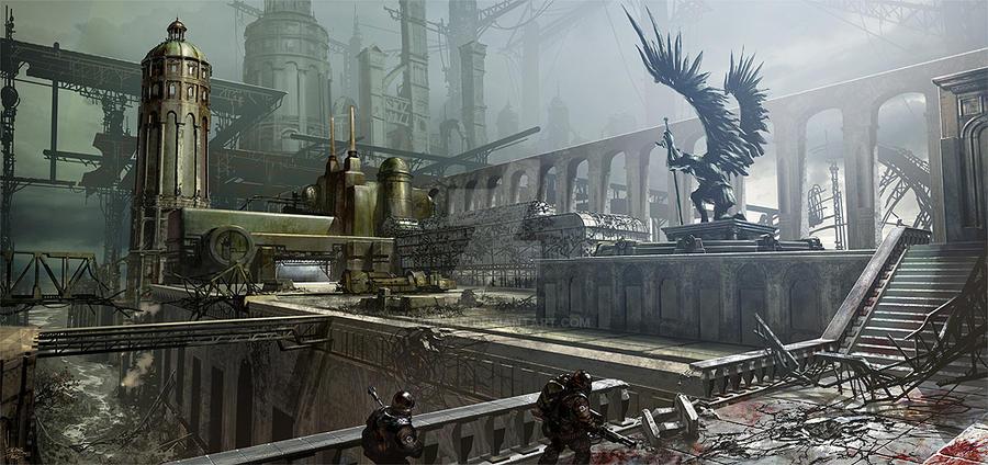 Lost city by Morano