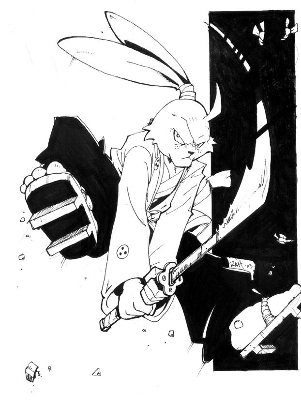 Usagi Yojimbo X by RAHeight2002-2012