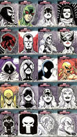Marvel Masterpieces III Set 1 by RAHeight2002-2012