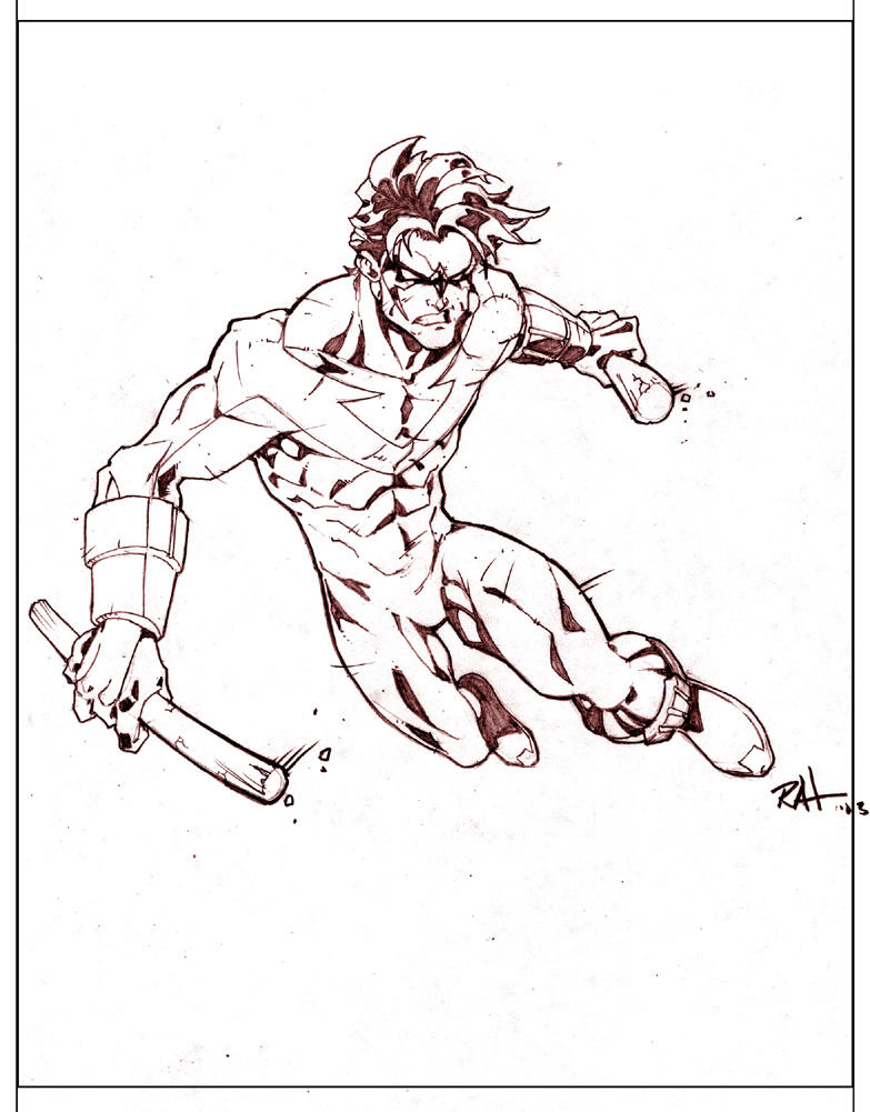 Nightwing Practice by RAHeight2002-2012