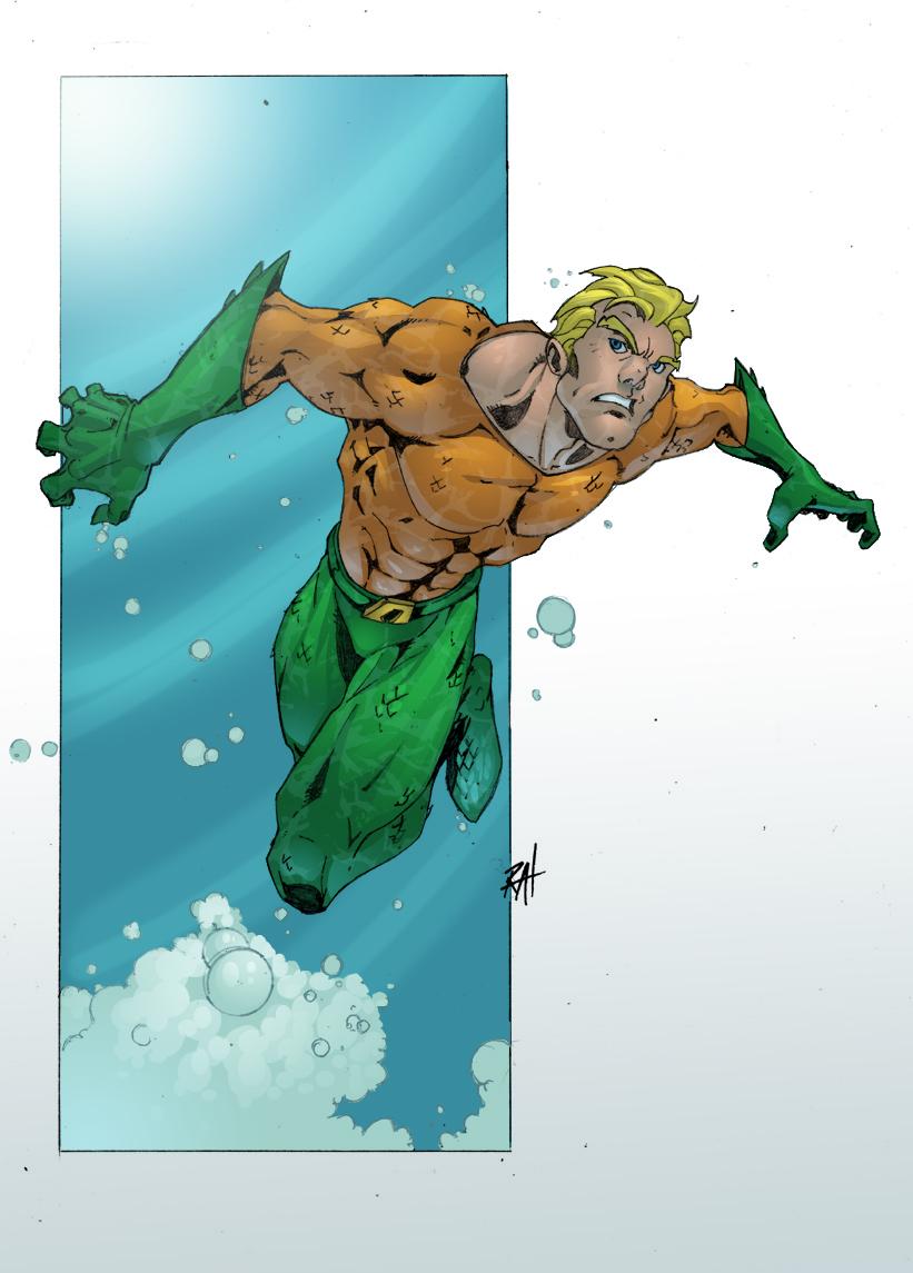 Aquaman RAHeight Style