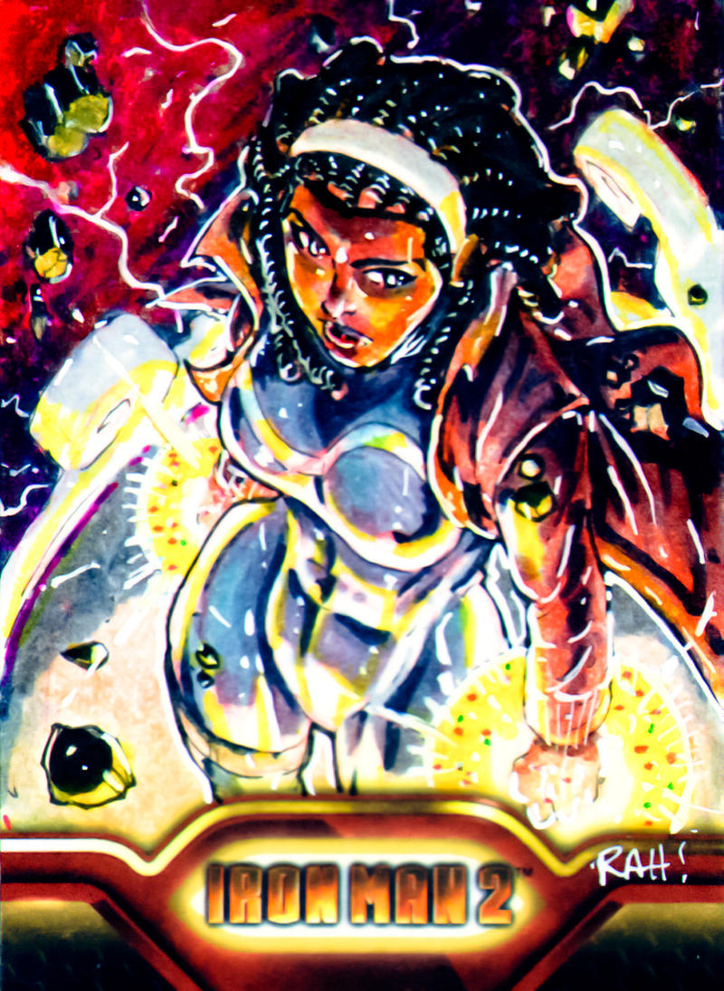 Monica Rambeau IM2 Card by RAHeight2002-2012