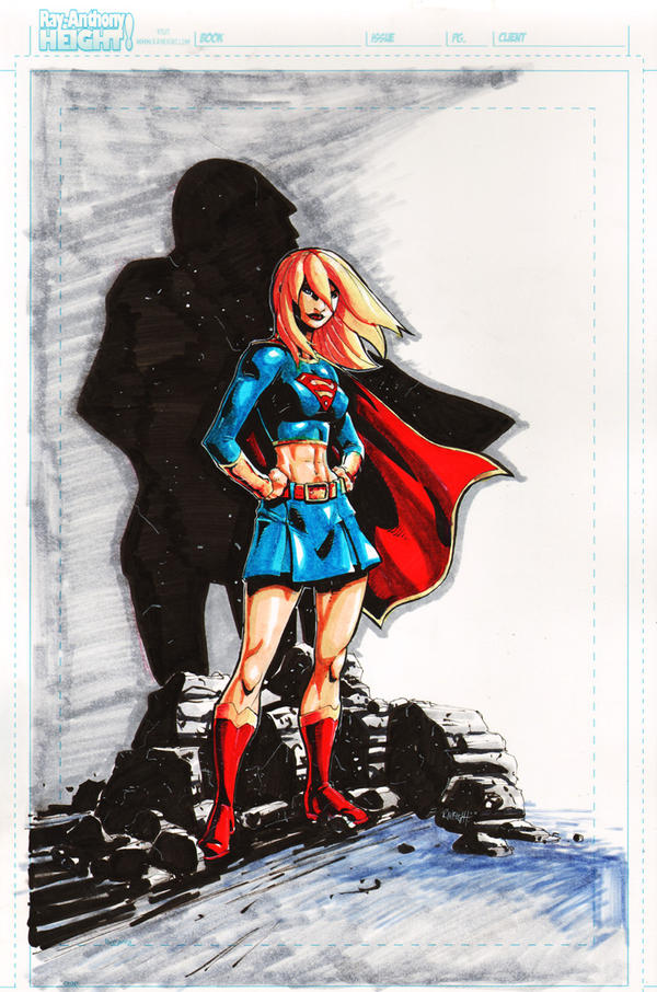 Supergirl...Again by RAHeight2002-2012