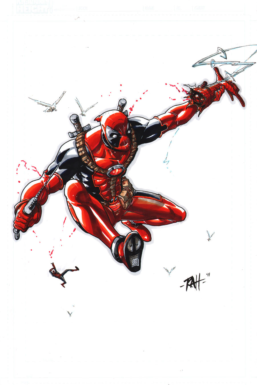 el topic de los random sketches 21_pinups_n_20_days__deadpool_by_raheight-d4b1r2t