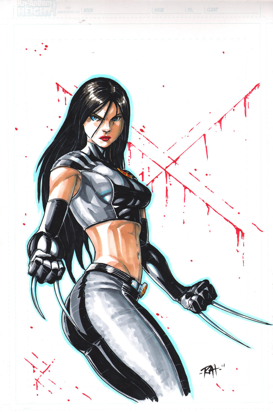 21 Pinups N 20 Days: X-23 by RAHeight2002-2012