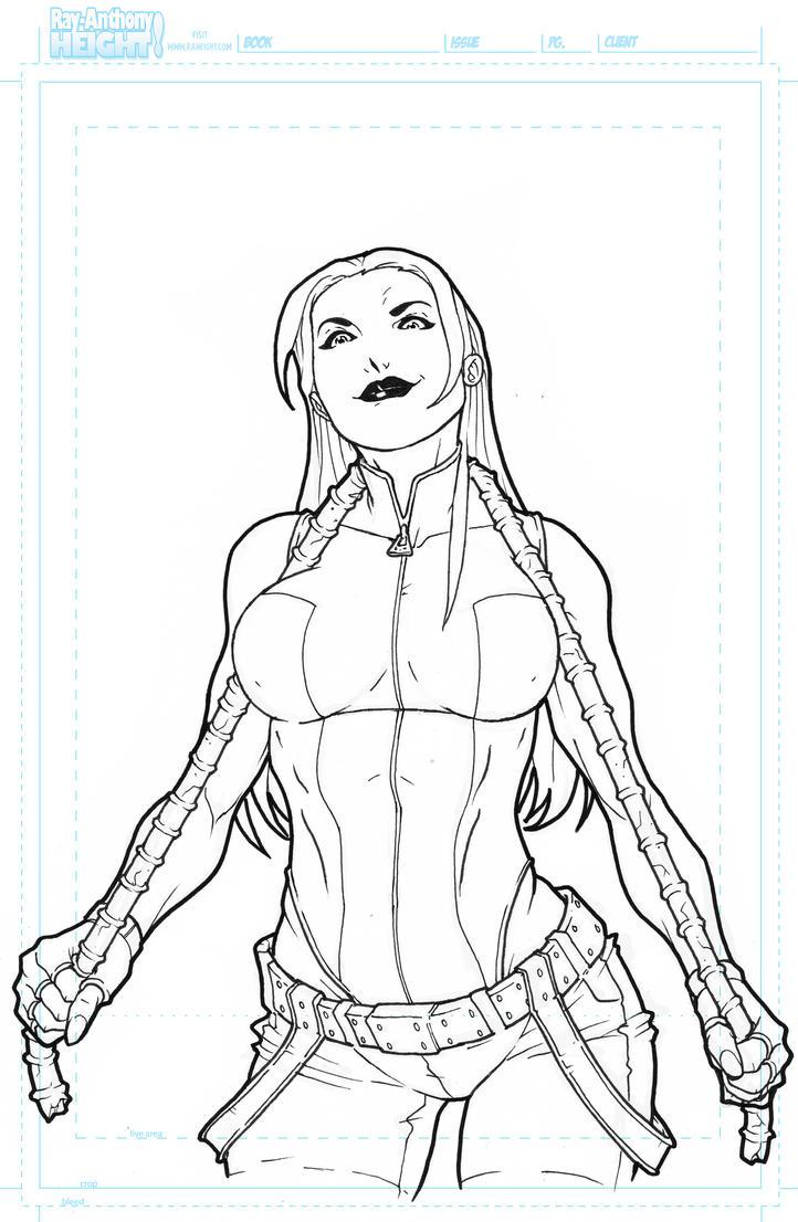 She-Hulk Lines 2011 by RAHeight2002-2012