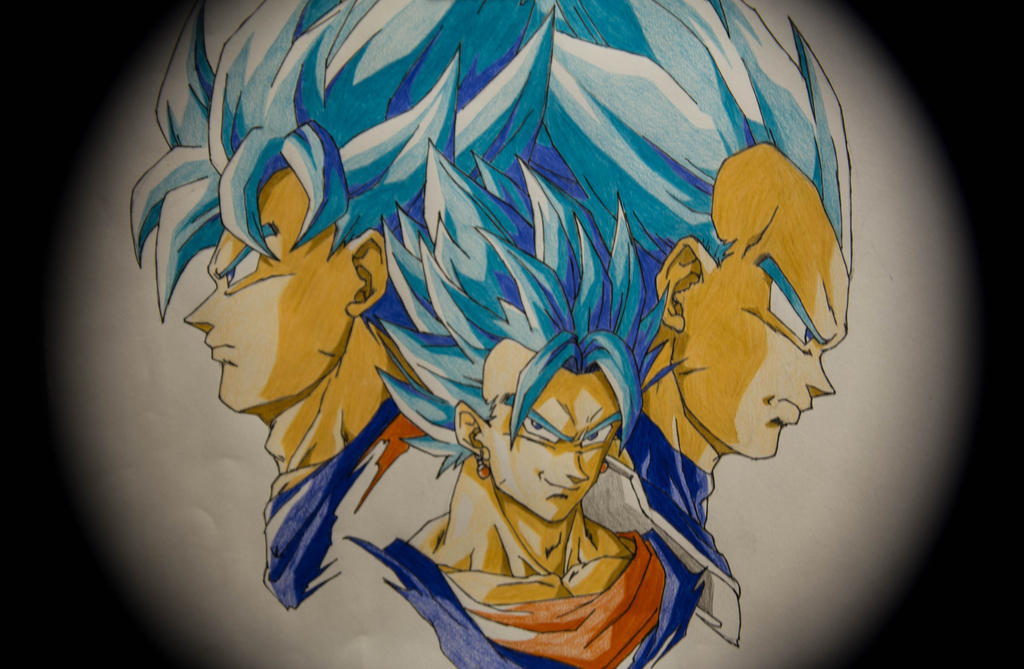 Super Saiyan Blue by achillesbeast