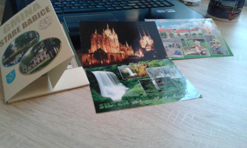 Postcards, postcards everywhere :D by strange-fiction