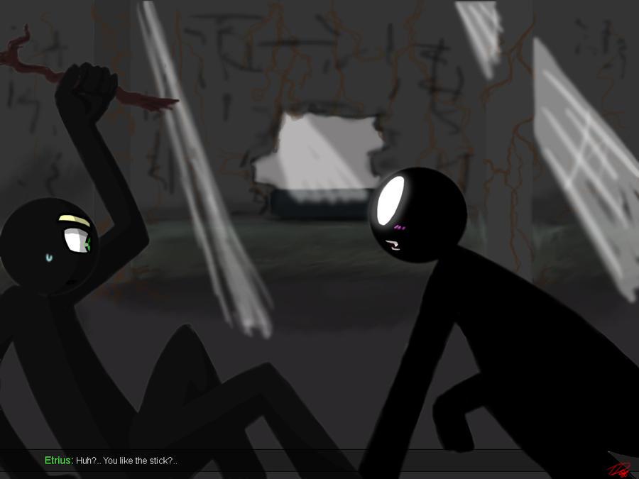 Castle - Deffect Darkness by Twinkel13