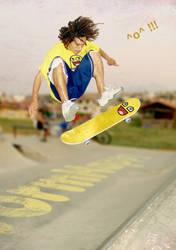 Skate Worm by wormhappy1plz