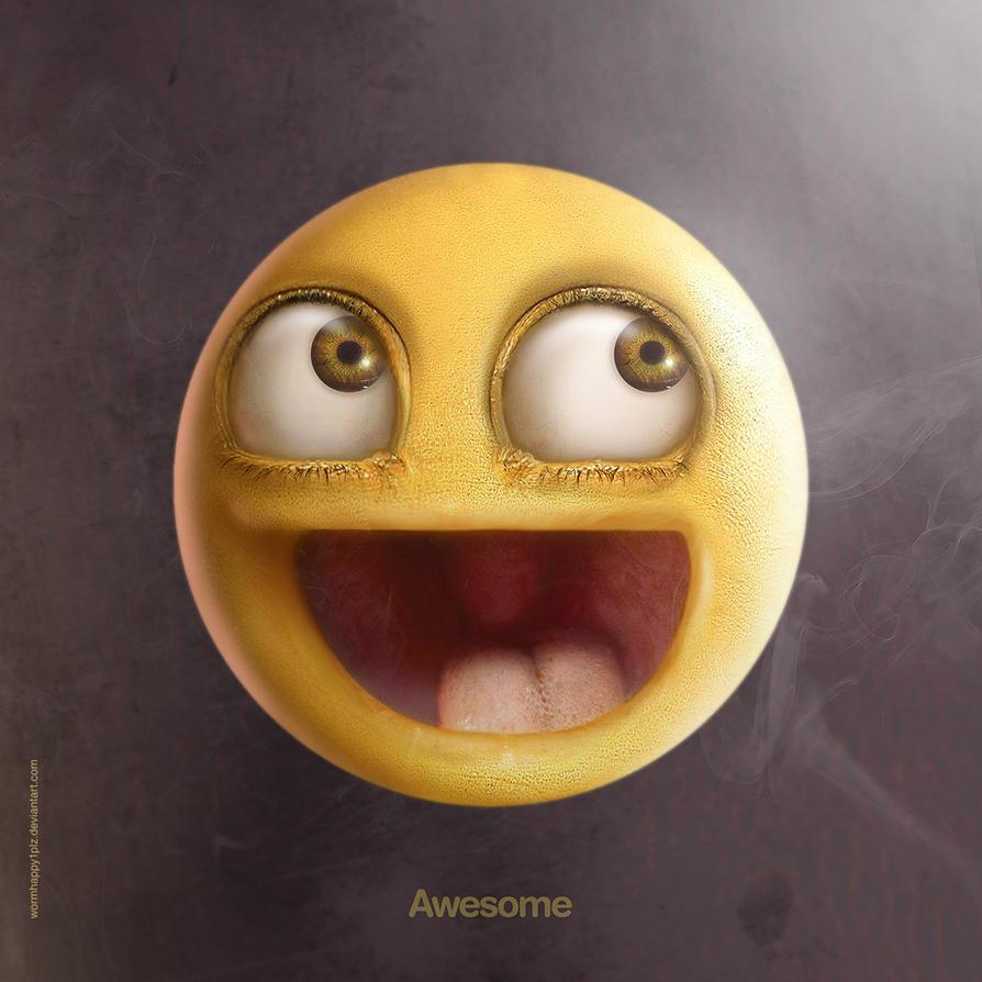Realistic Awesome by wormhappy1plz