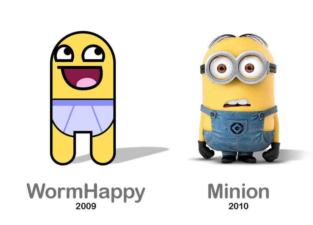 Worm Minion by wormhappy1plz