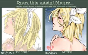 Draw This Again Meme by GalaxyNya