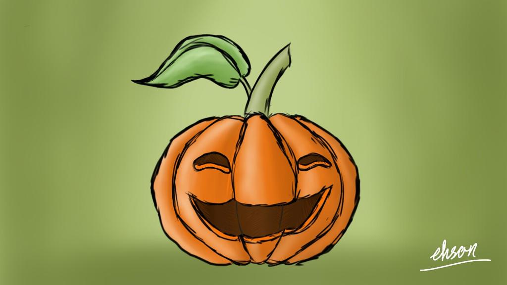happy pumpkin by NorthEmpire