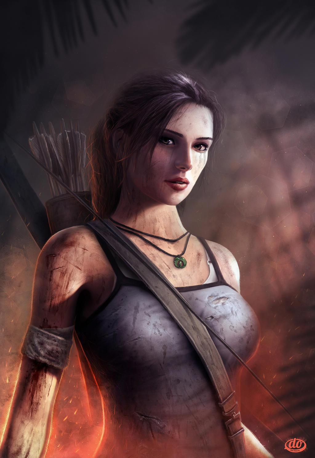 Lara Croft by danosborne
