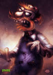 Zombie Simpsons: Groundskeeper Willie