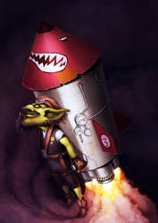 Gobbo launcher by Jimmy-Synthetic