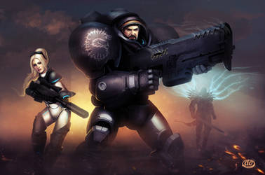 Heroes of the storm by Jimmy-Synthetic