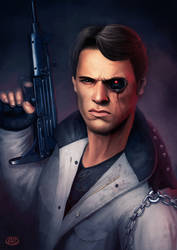The Terminator by Jimmy-Synthetic