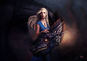 Mother of dragons by Jimmy-Synthetic