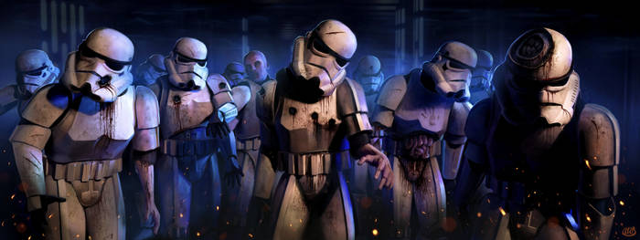 Zombie Star Wars Stormtroopers by Jimmy-Synthetic