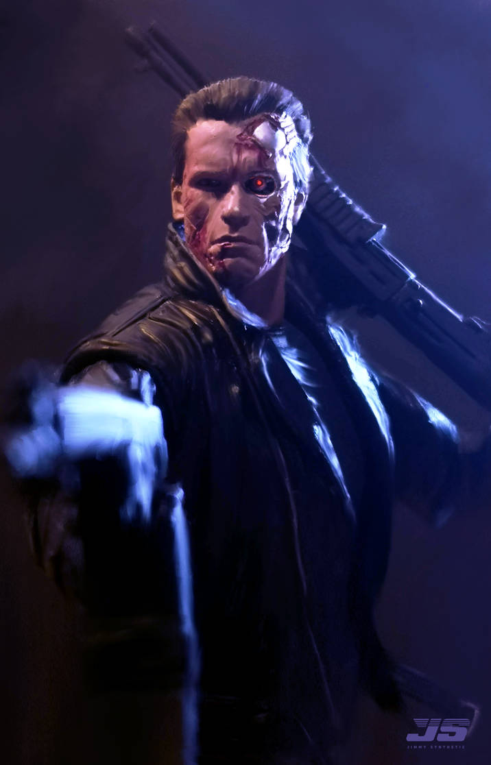 Terminator T-800 model 101 by Jimmy-Synthetic