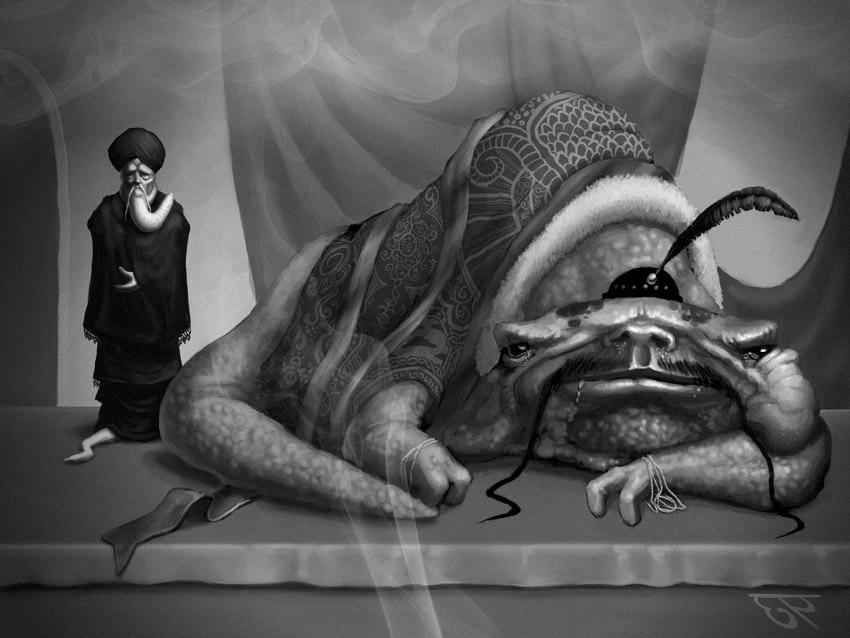 Alien Crime Lord by Ultra0kelvin