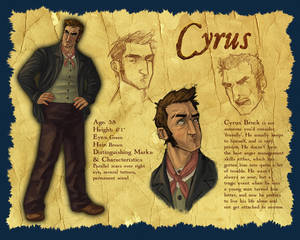 Character Design: Cyrus