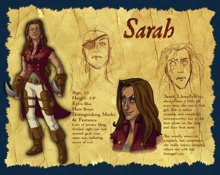 Character Design: Sarah