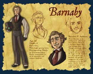 Character Design: Barnaby by parttimeninja