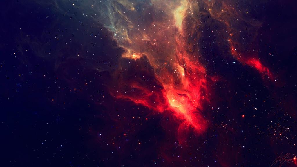 Space Wallpaper By HazaelMendoza