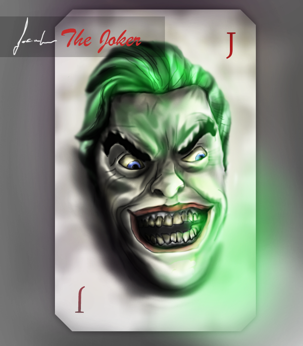 The Joker Card by ModernMaking on DeviantArt