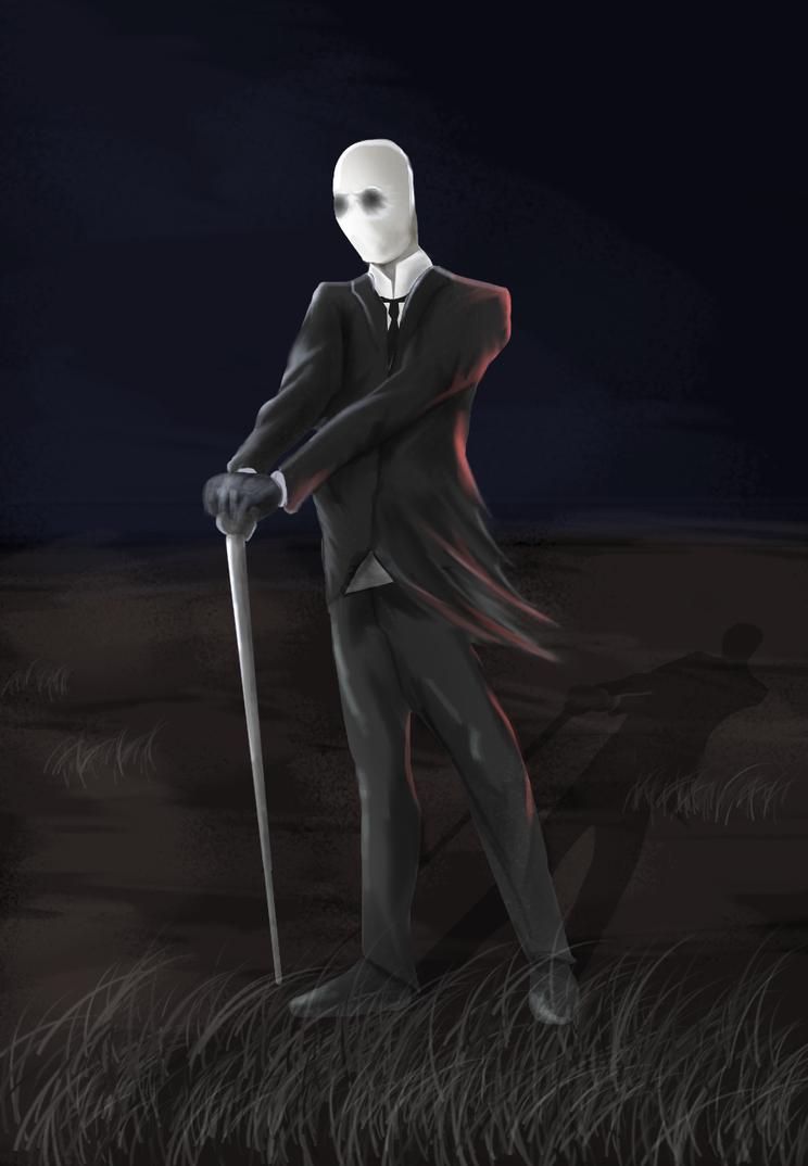 Slender Man by ModernMaking