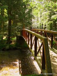 Footbridge by zannen-na